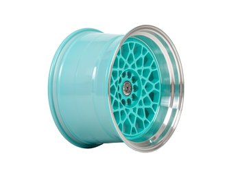 "59°North Wheels D-008 11x18"" ET8 5x114,3/5x120 Turqouise/polished lip"