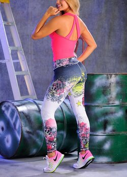 Marcyx hög midja leggings