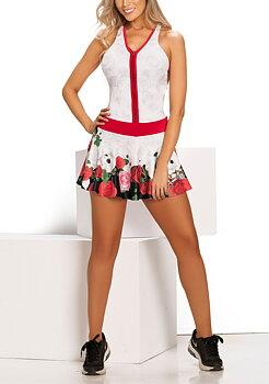 Nexay sport klänning vit