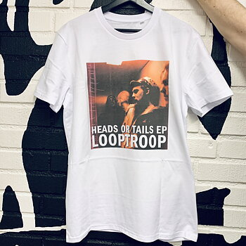 Looptroop Rockers - Heads or Tails Tee (White)