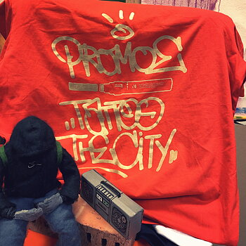 Promoe - Tattoo the City Tee