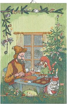Julpyssel Pettson och Findus