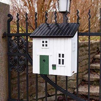 Poststuga/brevlåda Vit