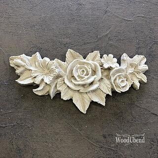 WoodUbend Flower Garland 0348 11,5 x 5,5 cm