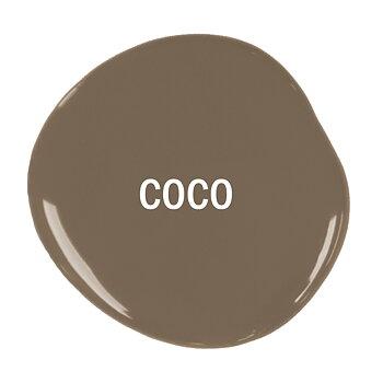 Coco Chalk Paint, ljus brun möbelfärg