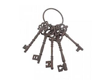 Slott nycklar - set av 5st