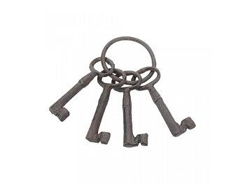 Slott nycklar - set av 4