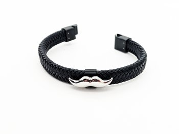 Armband klassiskt -  Svart - Mustaschkampen