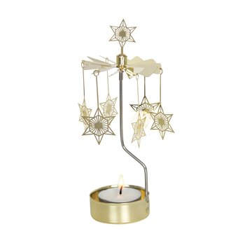 ROTARY CANDLE HOLDER ART DECO