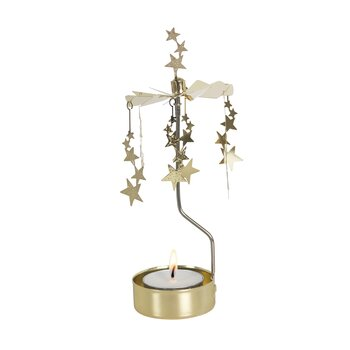 ROTARY CANDLE HOLDER NIGHT SKY