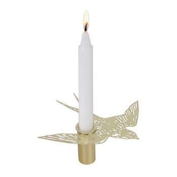 SMALL CANDLEHOLDER SWALLOW