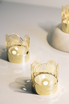 MINI TEA LIGHT HOLDER SUN