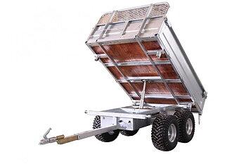 Bronco 3-vägstipp dumpervagn
