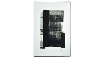Tavla svart-vit 80x120