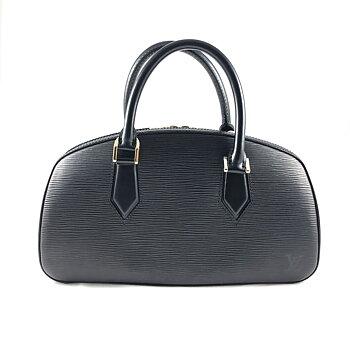 Louis Vuitton Jasmin Black Epi Leather Handbag