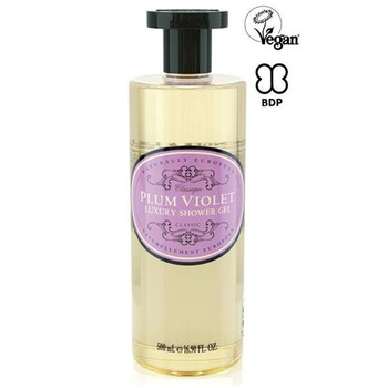 Naturally European Shower Gel Plum Violet