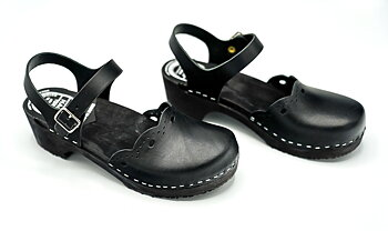 Hagatoffeln, clog - Mary Jane black