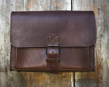 Postmanbag, brown