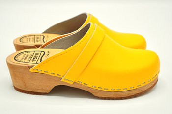 Hagatoffeln, childrens shoe - Yellow