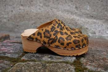 Hagatoffeln, Childrens shoe - Leopard