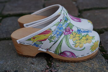 Hagatoffeln, Childrens shoe - Flower