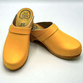 Hagatoffel, clog - Yellow