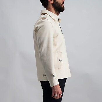 Epaulette Jacket natural denim