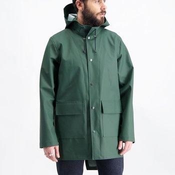 Green Fishtail Rainjacket