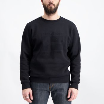 Statement Sweatshirt Svart