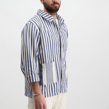 Overshirt Striped Heavy Cotton